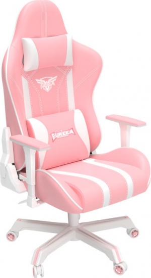 Eureka Ergonomic GC04 (Pink) Gaming Καρέκλα