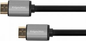 Kruger & Matz KM1203.Καλώδιο HDMI - HDMI 1.4-1m