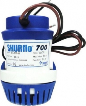 Αντλία σεντίνας SHURFLO 700GPH για βαριά χρήση