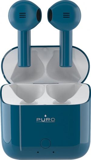 Puro Icon Pods Earbud Bluetooth Handsfree Μπλε
