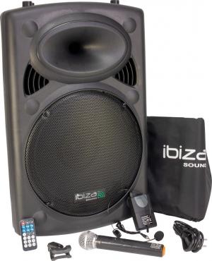 IBIZA PORT15VHF-BT Φορητό σύστημα Ήχου 15''