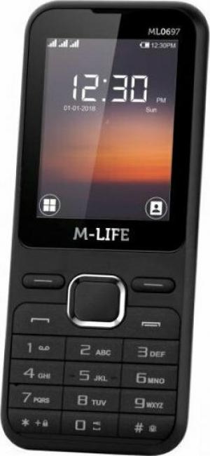 M-Life ML0697B Κινητό τηλέφωνο GSM Μαυρο