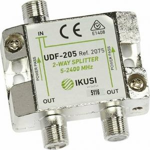IKUSI UDF-205 Splinter 1 προς 2  2WAY SPL 5-2400MHz