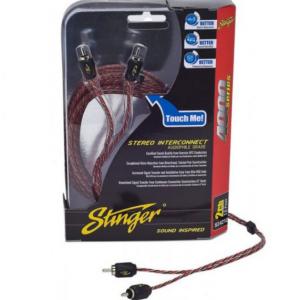 STINGER SI 4217.Καλωδιο RCA 2ch 5.5m
