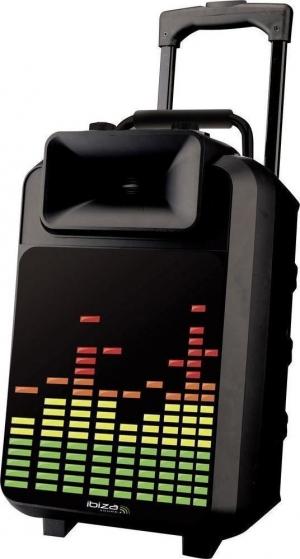 Ibiza POWER8-LED φορητό σύστημα ήχου με led