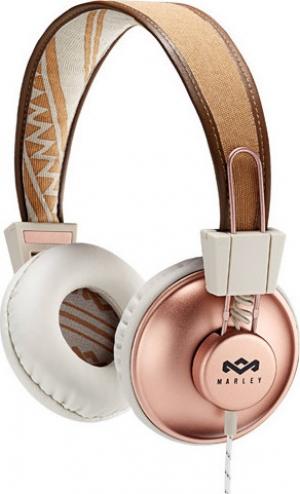 Ακουστικά Headphones Marley Positive Vibration – Ροζ