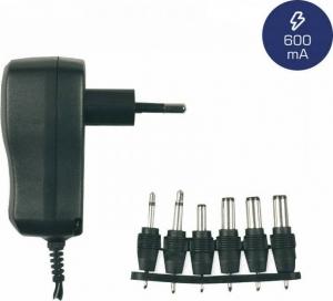 Heitech 09001550 Φορτιστής / τροφοδοτικό universal με 6 αντάπτορες 600 mA