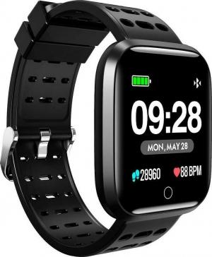 Lenovo E1 Pro (Μαύρο) Smartwatch