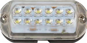 Eval IP68 Led Υποβρύχιο Φώς Σκάφους Απαλό Λευκό 12x0.2W
