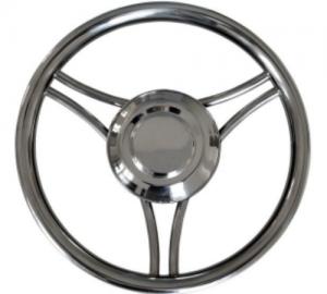 Savoretti Armando T22S Τιμόνι INOX Διάμετρος 35cm