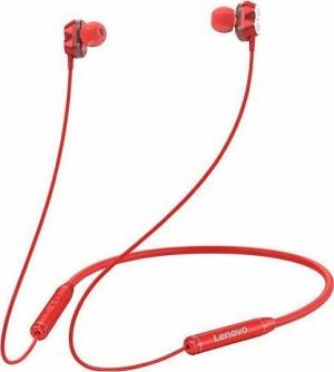 Lenovo HE08 In-ear Bluetooth Handsfree Κόκκινο