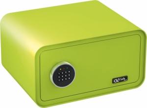 Olympia GOSAFE200 C GR Πράσινο Χρηματοκιβώτιο με ηλεκτρονική κλειδαριά 24 x 43 x 36 cm