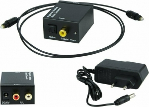 Coaxial / Toslink σε 2x RCA  DM-91-200