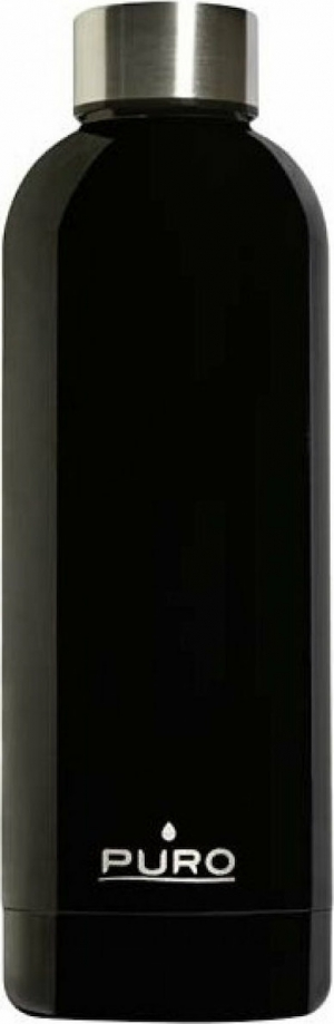 Puro Hot Cold Bottle 500ml – Μαύρο