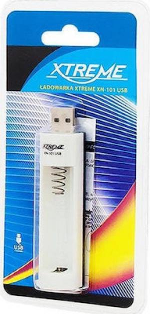 Xtreme XN-101 Φορτιστής μπαταριών AA/AAA USB