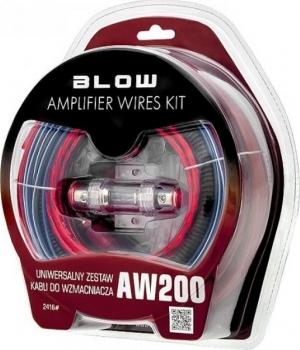 Blow AW-200 Σετ καλωδίων ενισχυτή αυτ/του.8AWG.