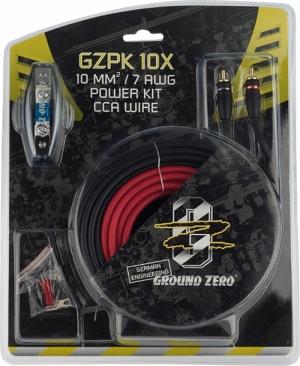 Ground  Zero GZPK-10X Σετ καλωδίωσης 8G.