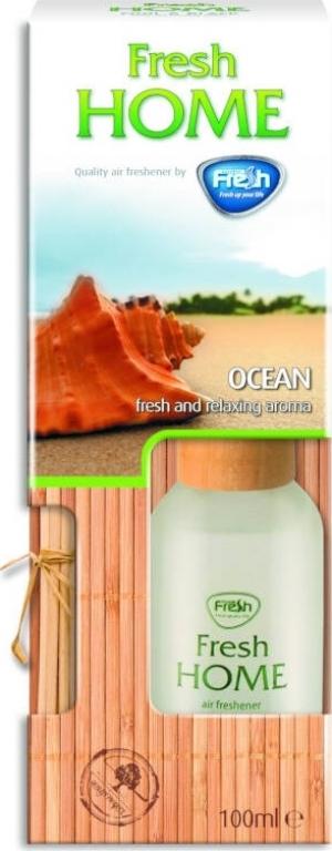 Fresh FHD06 Υγρό αρωματικό χώρου με στικ Ocean 100 ml