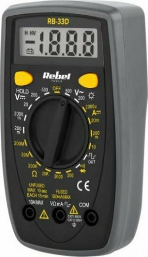 REBEL RB-33D Πολύμετρο