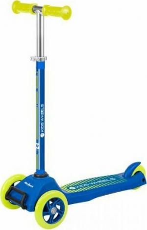 Rebel ZAB0121Y Τρίτροχο Πατίνι Scooter Κιτρινο-Μπλε