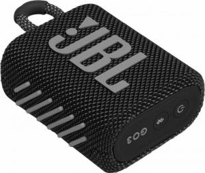 JBL Go 3 Black Φορητό ηχείο Bluetooth