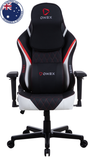 Gaming Καρέκλα - Eureka Ergonomic® ONEX FX8-Black/Red/White