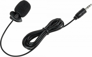 DM-0039 Clip Μικρόφωνο με Καλώδιο 2m