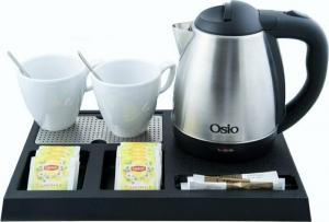 Osio OTK-1180 Δίσκος καλωσορίσματος με βραστήρα Inox 1.2 L – 1600 W