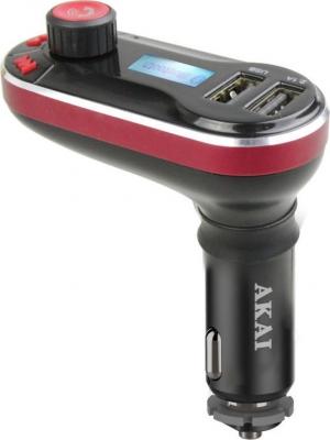 Αkai FMT-66B Bluetooth car fm transmitter και φορτιστής