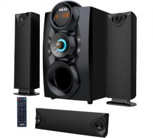 Akai SS028A-3208C Ηχοσύστημα 3.1 με Bluetooth, USB, SD και ραδιόφωνο – 75 W