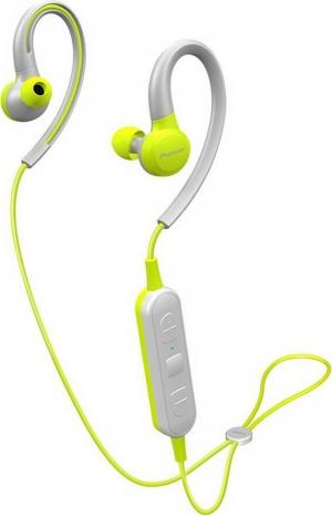 Pioneer SE-E6BT In-ear Bluetooth Handsfree Κίτρινο