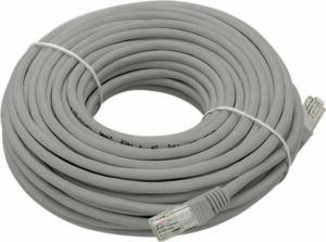 DM-4011-10 Patch cord UTP Cat5 10m Γκρι