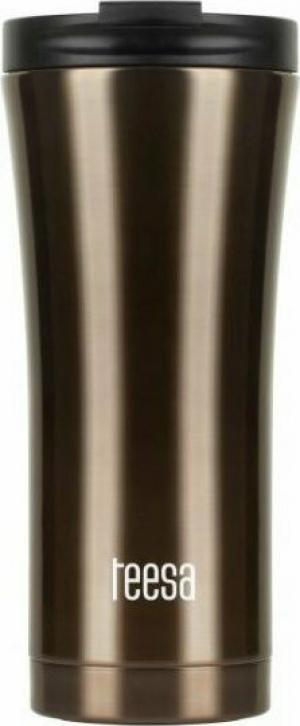 Teesa TSA0008 Θερμός ποτήρι 500ml σκούρο Καφέ