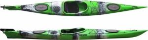 SCK Dreamer Plus Green/White/Black μονοθέσιο sιt-in καγιάκ - Πράσινο/Άσπρο/Μαύρο