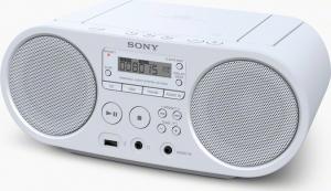 Sony ZS-PS50 Φορητό Ηχοσύστημα με CD / MP3 / USB / Ραδιόφωνο σε Λευκό Χρώμα
