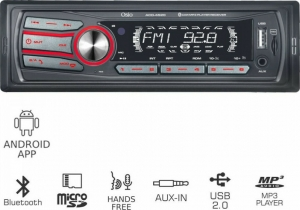 Osio ACO-4520UBT Radio-Bluetooth- Android App- micro SD και Aux-In