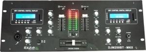 Ibiza DJM250BT-MKII. Μείκτης DJ 2 καναλιών με USB, SD και BLUETOOTH,