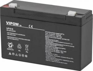 Lead-acid battery 6V 12Ah VIPOW.150X50X94mm [BAT0201]
