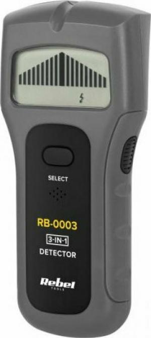 REBEL RB-0003 Ανιχνευτής 3 σε 1 μετάλλων, τάσης και ξύλου