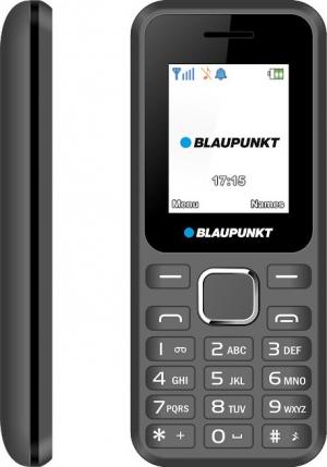 "Blaupunkt FS04 Gray/Black Κινητό τηλέφωνο με κάμερα 0,3 MP και LCD οθόνη 1,8"""