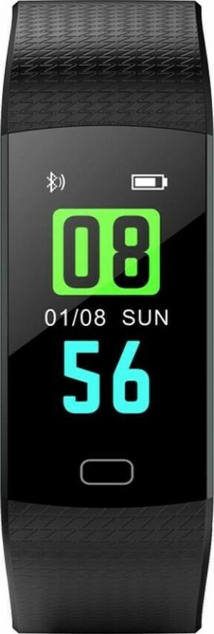 Havit H1108 Activity Tracker με Παλμογράφο Μαύρο