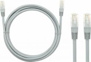 DM-2760 Patch cord UTP Cat5 7.5m Γκρι