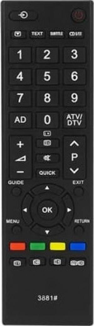 Τηλεχειριστήριο LCD TOSHIBA CT-90326LX για τηλεοράσεις Toshiba