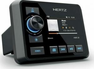 Hertz HMR 20 Αδιάβροχη πηγή ήχου marine με έγχρωμη οθόνη 3''