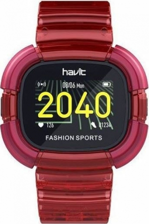 Havit M90 (Red) Ρολόγια Smart