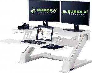 Γραφείο Gaming CV-PRO 36 με Μεταλλικά Πόδια White 90x81.5x140cm