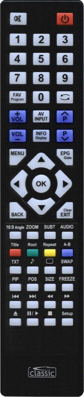 CL-IRC87010 Classic τηλεχειριστήριο για Beko-Grundig LCD-TV