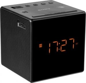 Sony  ICF-C1B Ψηφιακό Ρολόι Επιτραπέζιο με Ξυπνητήρι Black