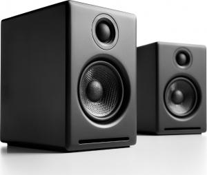 Audioengine A2+ Wireless Black Ασύρματα Αυτοενισχυόμενα Ηχεία Βιβλιοθηκης (Black)