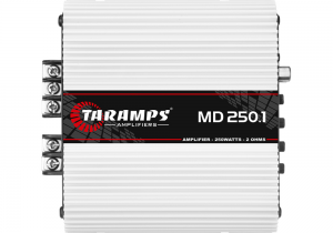 Taramps MD 250.1 2Ohm Ενισχυτής Αυτοκινήτου 2Ohm 1 Καναλιού (Κλάση D) 250w RMS